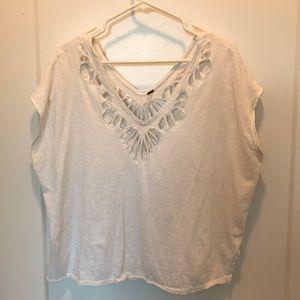 Free people cotton t shirt, size XS